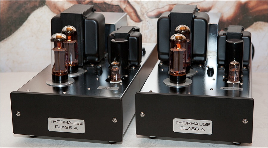 Thorhauge 20W. CLASS A Triode Koblet Monotrin